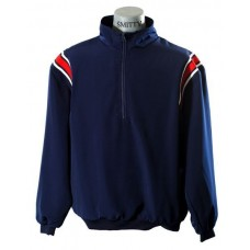 SMITTY Navy jacket with red shoulder stripes