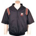 SMITTY Navy SHORT SLEEVE jacket with red shoulder stripes and NEW OHSAA logo