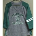 DUBLIN BASEBALL LADIES 3/4 SLEEVE VINTAGE TEE