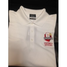 Nike OHSAA football officials polo (WHITE) ($$)