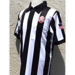 "Smitty NEW OHSAA  SUBLIMATED Short Sleeve Football Shirt (2 1/4"" STRIPE)"