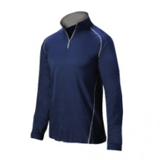 OI MIZUNO 1/2 ZIP BATTING JACKET LS