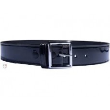 BOSTON Black PATENT Leather Belt