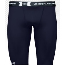 UNDER ARMOUR Heat Gear Compression Shorts (Black)