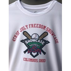 Showcase Baseball Official Tournament T-Shirt