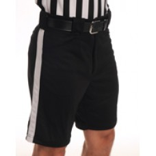 Smitty black shorts with stripe